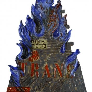 Trans chantico azzurro